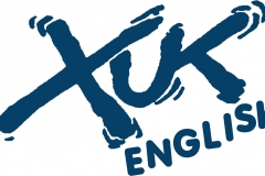 Logo XUK ENG blue