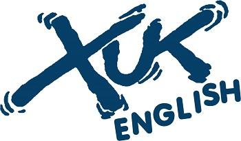 Logo XUK ENG blue sized