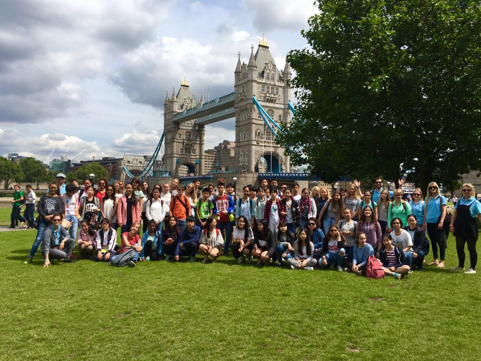 Group in London 2016